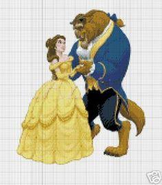 Beauty & The Beast Dancing Crochet Pattern