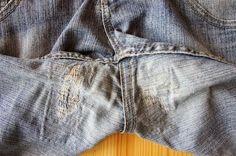 zwischengeflecht: Jeans flicken