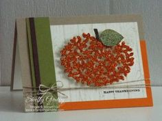 Stampin' Up! Beautiful Branches Card