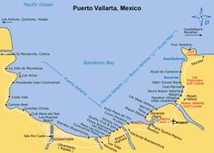 map of puerto vallarta with resorts - Google Search