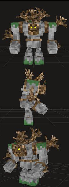 Nouveau mob sur Heroes of Aerthys ! L'homme mi arbre, mi pierre, rien que pour vous ! Peut être un nouveau boss ? Qu'en pensez-vous ? :)