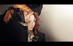 getting used to wear black by on deviantART.The tragic lives of Thomas and Martha Jefferson Outlander, Drawing Reference Poses, Thomas Jefferson, Detail Art, Couple Art, Beautiful Artwork, Beautiful Drawings, Wearing Black, American History