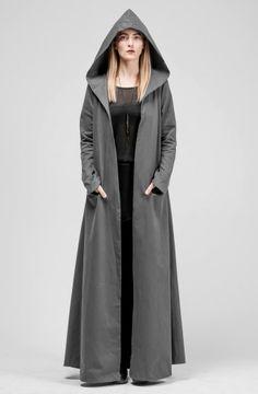 SKOGR JACKET by SOTBM #grey #style #coat
