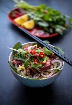 Pho (Beef Noodle Soup) (The Hungry Australian | Recipes, Food Stories, Travel & Photography)