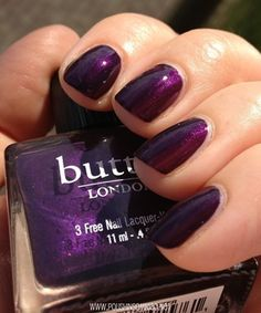 butter LONDON Pitter Patter ~~ I have this, it was in the Royal Trio set I got from Butter London.  It's gorgeous!