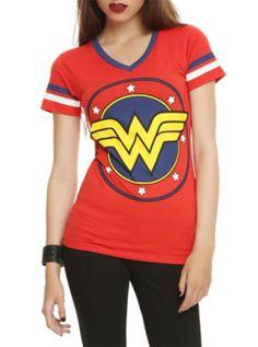 DC Comics Wonder Woman Logo Girls T-Shirt - $25