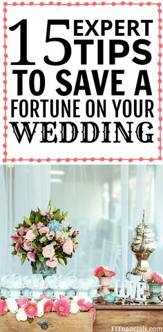 15 Expert Tips To Save A Fortune On Your Wedding Day Low Cost