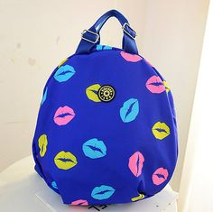 stacy bag hot sale women printing backpack girl nylon travel backpack female fashion casual travel bag student school bag $9.00