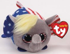 Ty has launched new plush toys called Political Teeny Tys. Ty Beanie Boos, Beanie Babies, Ty Peluche, Ty Babies, Ty Toys, Dad Day, Shopkins, Disneyland, Cute Pictures