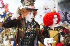 Corporate Entertainment Agency, Themed Events & Christmas Party Entertainment to bedazzle Clients: London & UK Corporate Entertainment, Party Entertainment, Uk Parties, Themed Parties, Johnny Depp Mad Hatter, London Manchester, Johny Depp, Alice In Wonderland Party, Mad Hatter Tea