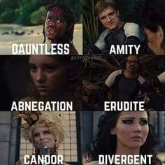 Fits. Though I think Peeta will be divergent.