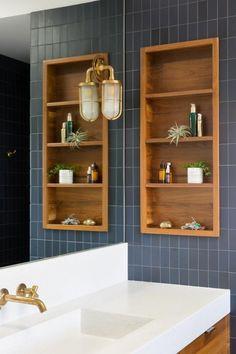 Clever Bathroom Storage, Bathroom Storage Solutions, Small Bathroom Organization, Pantry Organization, Diy Storage, Towel Storage, Makeup Storage, Cubby Storage, Linen Storage