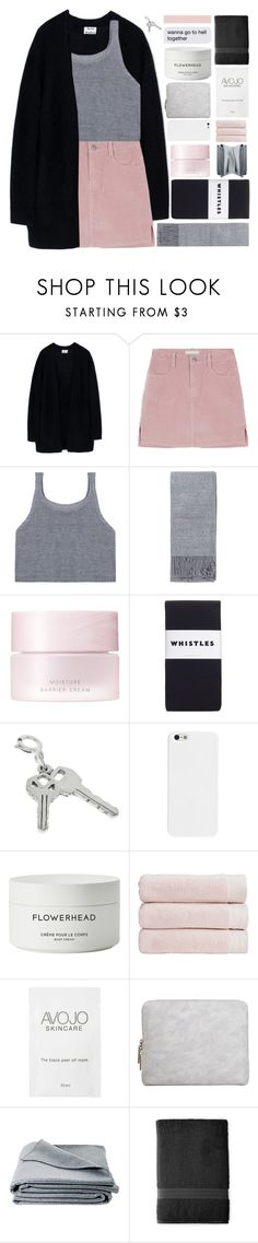 """""""IF YOU'RE GONNA STAY"""" by trnslucid ❤ liked on Polyvore featuring Acne Studios, Topshop, SUQQU, Whistles, Byredo, Christy, 3.1 Phillip Lim, JAG Zoeppritz, Royal Velvet and unicorntags"""