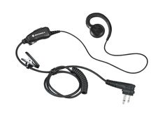 Motorola HKLN4604 Swivel Earpiece with Mic and PTT -- You can find out more details at the link of the image.