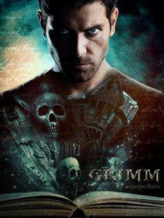 S 3 Grimm Cast, Nbc Grimm, Grimm Tv Show, Brothers Grimm Movie, Brothers Grimm Fairy Tales, Grimm Tales, Grimm Series, Tv Series, Nick Burkhardt