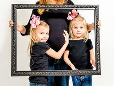 maternity sibling frame