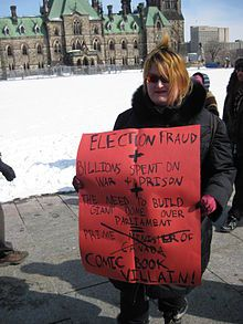 2011 Canadian federal election voter suppression scandal - Wikipedia, the free encyclopedia