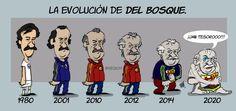 LA EVOLUCIÓN DE DEL BOSQUE.