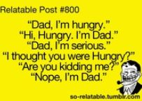 That's Dad...