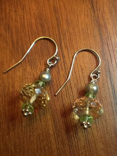 High Quality Citrine Peridot and Fresh Water by LaSireneDesigns