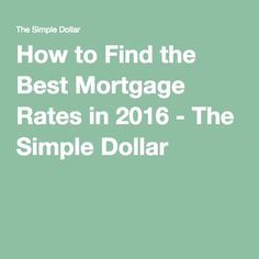 best fixed mortgage rates singapore