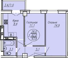 Cданные дома / 2-комн., Краснодар, Солнечная ул, 1 700 000 http://krasnodar-invest.ru/vtorichka/2-komn/realty248510.html  Продаю 2 ккв в ЖК Притяжение на улице Московская, 7 этаж 16 ти этажного монолитного дома, 45,4 квадрата, две жилые комнаты и кухня, есть балкон-лоджия, в доме есть наземный и подземный паркинг. Конечная остановка трамвая, маршрутный траспорт, семейный гипермаркет МАГНИТ, детский садик, школа. Цена дешевле чем у застройщика. Меня зовут Анфиса, звоните рассмотрим и ипотеку…