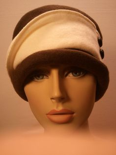 Womens Chemotherapy Hat with Beautiful by ChicReflections on Etsy,