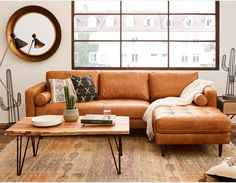 Ok, I Think I Understand Boho Brown Couch, Now Tell Me About Boho Brown Couch! Now there are various kinds of shelves. Shelves is the simplest approac. Sectional Sofa With Chaise, Leather Sectional Sofas, Sleeper Sofas, Brown Leather Couches, Living Room Decor Brown Leather Couch, Tan Couches, L Couch, Tan Sofa, Recliners