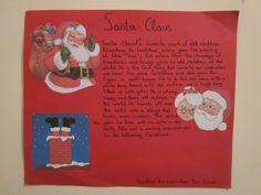 Student made Christmas card