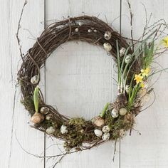 Terrain How-To: Egg + Bloom Wreath #shopterrain