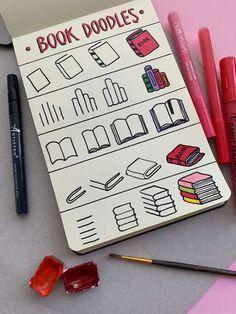Very Easy Drawing, Cool Easy Drawings, Easy Doodles Drawings, Easy Doodle Art, Cool Doodles, Easy Drawing Tutorial, Easy Doodles To Draw, Doodle Art For Beginners, Drawing Tutorials For Beginners