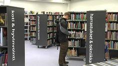 Hakunilan uudistettu kirjasto