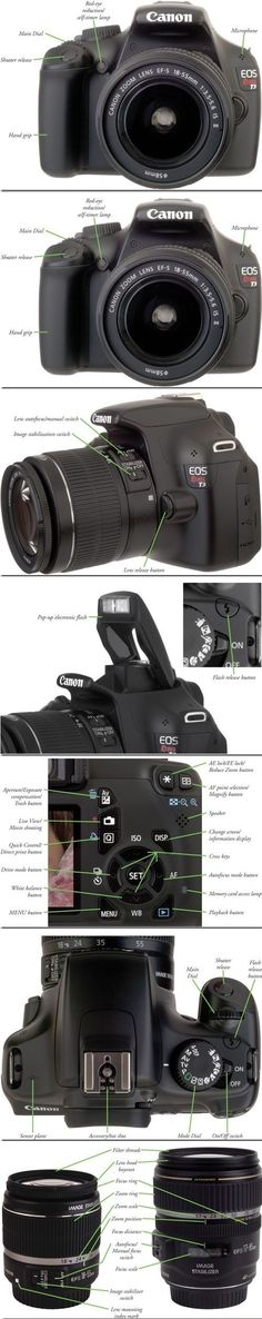 Canon EOS 1100D guide. Wanted a DLSR Camera for so long also to start photography as hobby