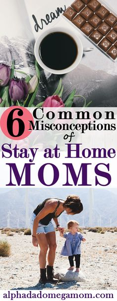 "There are so many misconceptions out there about stay at home moms. ""You do nothing all day."" Stay at home mothers get tired and discouraged from hearing..."