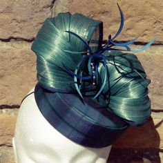 """MILLINER: MARION LOWE - Marion Lowe has a true passion for millinery and loves using whatever she can get her hands on to make hats. """"I enjoy experimenting with materials - conventional and all sorts of media not usually associated with hat making."""" #millinery #fascinator #hatacademy"""