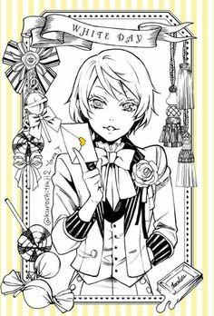 Alois Trancy   Kuroshitsuji - Black Butler #Anime #Manga  ☆by Yana Toboso