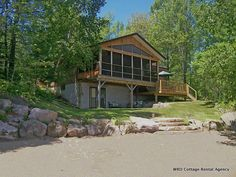 Golden Lake 1 located in the #Renfrew area of  the Ottawa Valley, Ontario  will make for very relaxing and fun filled visit.  This cottage will sleep a maximum 6 - 8 in 2 queens, a double bottom /single top set of bunks and a portable air bed if needed. 1- 4 piece bathroom.   Sandy beach, child safe gradual entry. @WRD Cottage Rental Agency