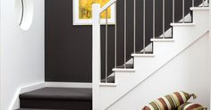 Metal staircase balusters