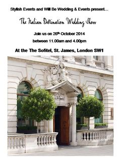 Join us on 26th October 2014 between 11.00 am and 4 pm at the Sofitel, St. James, London SW1