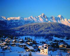 Guten Morgen aus den Bergen, ein neuer Tag beginnt in Seefeld 🌞! #olympiaregionseefeld #seefeld #tirol #österreich #winter #winterurlaub #schnee #urlaub