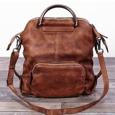 Genuine Leather Hand Bag Women Backpack  Casual Backpack WF 57 - ArtofLeather