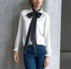 Blusa Corbata