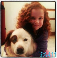 "Francesca Capaldi Spent Time With Micky From ""Dog With A Blog"""