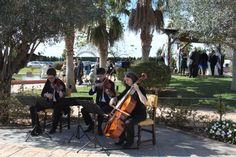 En el coctel se escucharon diversos estilos musicales. Un aperitivo con música en directo es perfecto.
