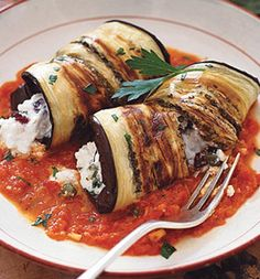 eggplant instead of pasta shells