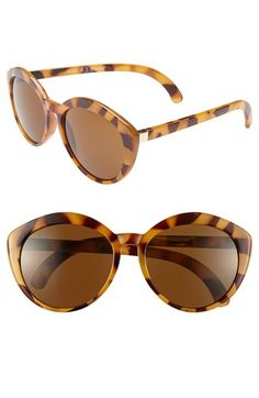A.J. Morgan | 'Greta' Retro Sunglasses