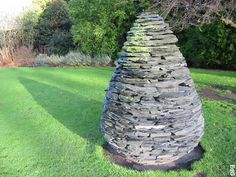 MATERIAL - Andy Goldsworthy Slate Sculpture