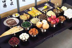 Korean Food, Table Settings, Table Decorations, Valentines, Korean Cuisine, Place Settings, Dinner Table Decorations, Tablescapes