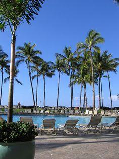Daydreaming about vacation - Hilton Waikoloa, Kona, Hawaii