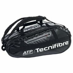 TECNIFIBRE Pro ATP 10 Racquet Bag by Tecnifibre. $99.00. Featuring three main compartments and two accessory pockets the Tecnifibre Pro ATP 10R Tennis Bag of. rab handles and padded adjustable shoulder straps for easy carryingDimensions L30 x H12 x W13Color. lack. fers space for up to 10 racquets or 34 racquets along with gear and accessories A total of five poc. ets provide storage while keeping gear and personal items secure and organized Bag includes middle. The Pro ATP bag ...